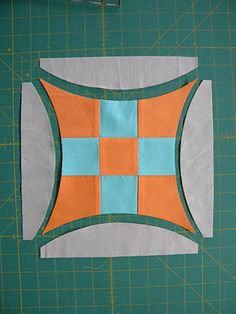 "8"" Curved Nine Patch FREE Tutorial"
