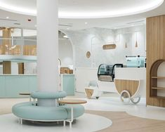 Play and learn - Nubo Chatswood Clinic Interior Design, Clinic Design, Healthcare Design, Kindergarten Interior, Kindergarten Design, Cafe Design, Store Design, Hygge, Tout Rose