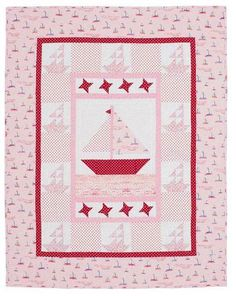 Polka dots are hot right now. Check out a collection of free quilting and  sewing projects that feature polka dot fabric.