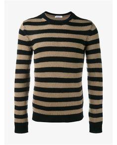 VALENTINO Striped Cashmere Jumper. #valentino #cloth #