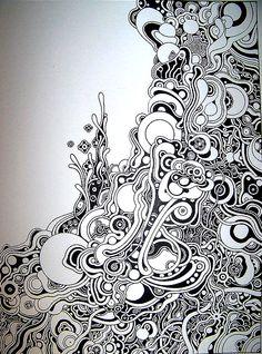 .Zen tangle art
