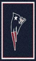 NFL New England Patriots Team Spirit Rug