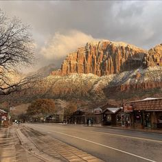 Springdale, Utah Right at the edge of Zion National Park sits a small village where visitors can soak up the breathtaking mountain-scape as they enjoy dining at the local brewery or shopping at one of the many crystal and geode shops. Places To Travel, Places To See, Travel Destinations, Zion National Park, National Parks, Vacation Spots, Vacation Ideas, Greece Vacation, Vacation Places