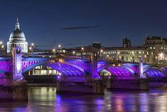 Blackfriar Bridge London Panorama - Photography Blog