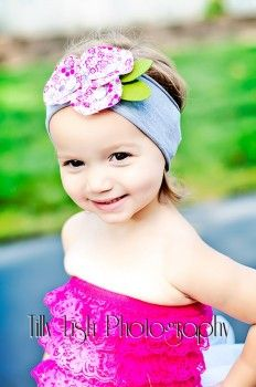 Cotton Headband Multi Color Floral Rosettes & Button for Baby and Girls photography props  Sale! Price: $6.99 On Sale: $4.99 You save: $2.00...