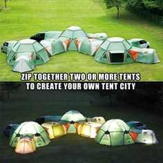 Camping idea, Here we go @Melissa Squires Halvorson