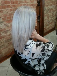 Final result scalp bleach toner and blowdry