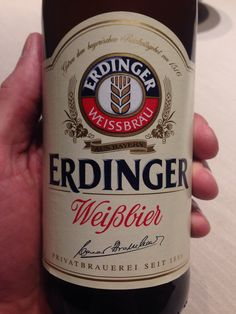 Edringer Weissbier, Germany (bottle)