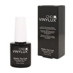 CND - VINYLUX TOP COAT Weekly Polish Creative Nail Design Manicure Lacquer 0.5oz