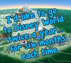 Walt Disney World or bust