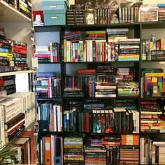 "pixelski: ""That last pic was terrible quality. Let's try this again. #shelfie #books #bookstack #bookstagram #needmorespace """