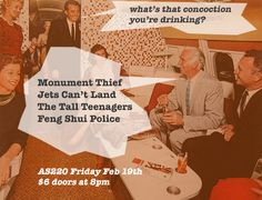 Tall Teenagers, Jets Can't Land, Monument Thief, and Feng Shui Police