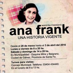 #MuestraAnaFrankGalvez / Muestra Itinerante