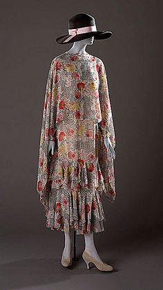 Madeleine Vionnet - 1927 - Day dress - Made in France