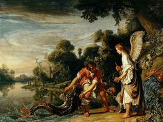 Pieter Lastman, Tobias and the Angel with the fish, 1625