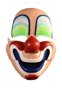 Faux Real Unisex-Adults Clown Mask