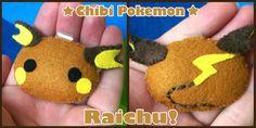 Plushie Chibi Raichu Pokemon