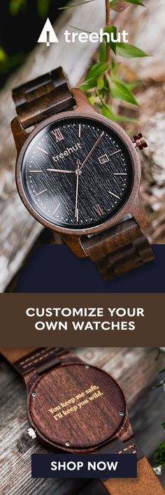 Handcrafted in San Francisco. Nature-inspired wood and marble designs that make the perfect gift for yourself and for your special ones! See the full collection of watches at Treehut! The Best Holiday Pins 2019