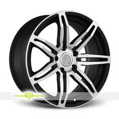 Lenso Conquista 2 Machined Black Wheels For Sale - For more info:  http://www.wheelhero.com/customwheels/Lenso/Conquista-2-Machined-Black