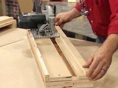 How to Make a Cross-cut Platform for your Circular Saw | how-tos | DIY