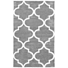 Fez Slate (Grey) 7 ft. 6 in. x 9 ft. 6 in. Area Rug