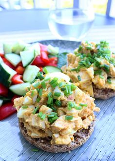 (Use safflower mayo) Chicken & Egg Salad Sandwich - so easy to make that you can barely call it cooking, and you can make a huge batch and store it in the fridge for days.