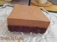 ΣΥΝΤΑΓΕΣ ΤΗΣ ΚΑΡΔΙΑΣ: Brownies με μους nutella