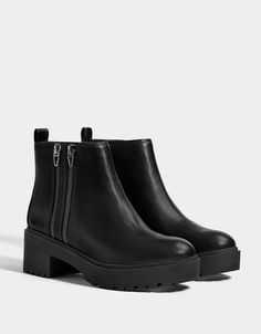 ef5e0b738aff Boots   Ankle boots - Shoes - COLLECTION - WOMEN - Bershka Macedonia