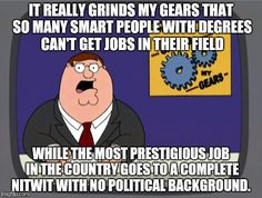 Peter Griffin News: No Political Background.