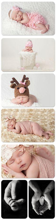 Newborn poses: