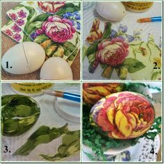 Decopage easter eggs page Diy Decoupage Easter Eggs, Easter Egg Crafts, Decoupage Ideas, Decoupage Art, Easter Decor, Easter Ideas, Plastic Easter Eggs, Easter Egg Dye, Spring Crafts