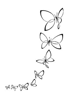 Butterfly Line Art, Purple Butterfly Tattoo, Simple Butterfly, Butterfly Drawing, Black Phone Wallpaper, Flower Background Wallpaper, Flower Backgrounds, Cute Disney Wallpaper, Wedding Henna Designs