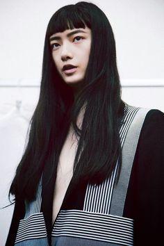 black hair sharpness