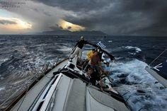 Sailing shi[ps   Sailing storm sea clouds boat ship