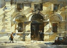 """""""On Being Prodigal and Otherwise"""" article by Annie. Watercolor by Chien Chung Wei, 2014"""