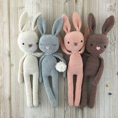 Bunny, MADE TO ORDER, crochet bunny, crochet toy, baby bunny, easter bunny, brown rabbit, child gift, newborn birth gift
