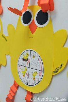 The First Grade Parade: chick craft