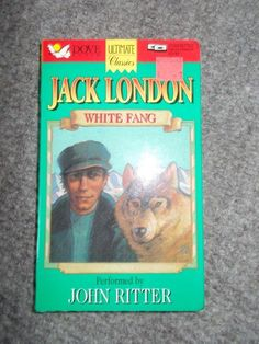 White Fang by Jack London Audiobook Cassette John Ritter Dog Stories John Ritter, Dog Stories, Audiobook, London, Classic, Dogs, Derby, Pet Dogs, Doggies