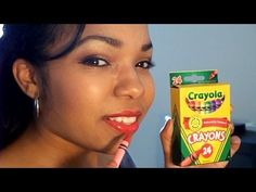 Best Lipstick Tutorial Using Crayons - Do It Yourself