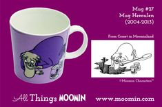 Moomin mug - Hemulen by Arabia - Moomin Moomin Mugs, Coffee Cups, Tableware, Troll, Finland, Den, History, Image, Collection