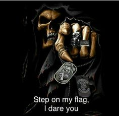"WE THE TRUE "" AMERICAN PEOPLE/PATRIOTS "" ARE DONE, THERE IS A WAR BREWING HERE IN OUR COUNTRY AND WE ARE DONE. CONTINUE TO STEP ON OUR FREEDOM'S, FLAG, OR OUR HERITAGE, AND WE WILL BE COMING FOR YOU."