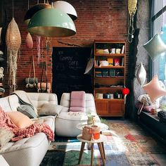 Living room with great atmosphere