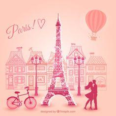 amantes-en-paris_23-2147506520.jpg (626×626)