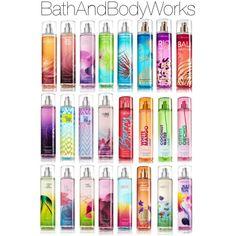 """BathAndBodyWorks Purfume"" by paigethedirectioner14 on Polyvore   pinterest ; @superduperpaige //"
