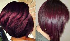 É um ruivo escuro avermelhado com reflexos violeta. Imagina um cabelo vinho escuro, só que com um toque de violeta. Esse é o Marsala! Lindo demais!!! Quer saber como chegar nesse tom? Clica aqui!
