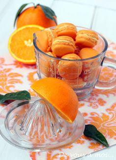 Macarons aux Deux Oranges ~ De Vous A Moi