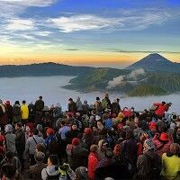 Dawn at Mount Bromo - Indonesia