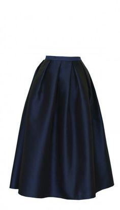 Tibi Simona Jacquard Full Skirt on shopstyle.com