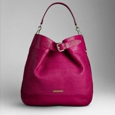 Burberry hobo bag. Please tell my husband this is what I want for Christmas.