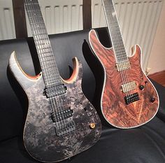 Mayones Guitars Basses Bare Knuckle Pickups Seymour Duncan
